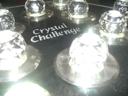 Crystal maze team building