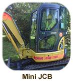 Mini JCB