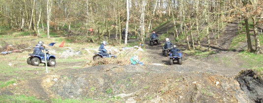 A quad trek from Demon Wheelers