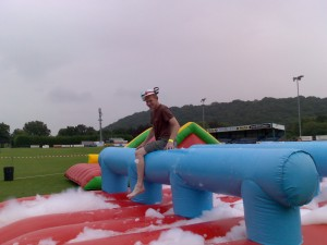 Inflatable Hurdles