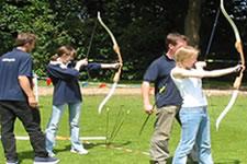 Archery from Demon Wheelers