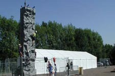 Climbing walls for Scout Camps